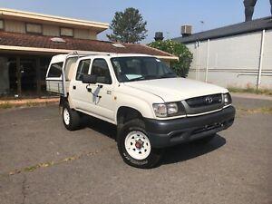 2003 Toyota Hilux SR5 4x4 VZN 167R MY02 Dual Cab **Rego RWC**
