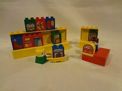 Vintage LEGO DUPLO Building Set #2640 - Grocery Store - 24 pieces - 1980