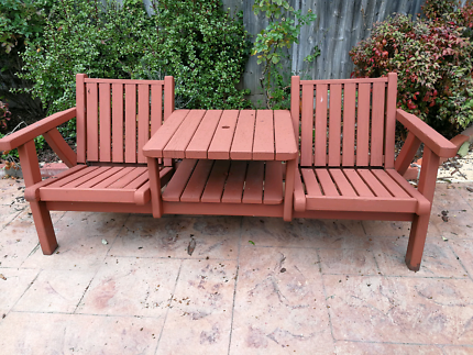 Jack And Jill Outdoor Chair Table Set