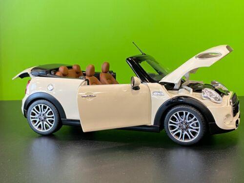 Mini Cooper F57 Cabrio Convertible Diecast 1:18 Model Car Pepper White 2405582