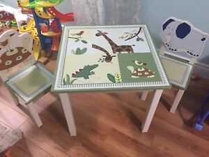 Wooden kid's table