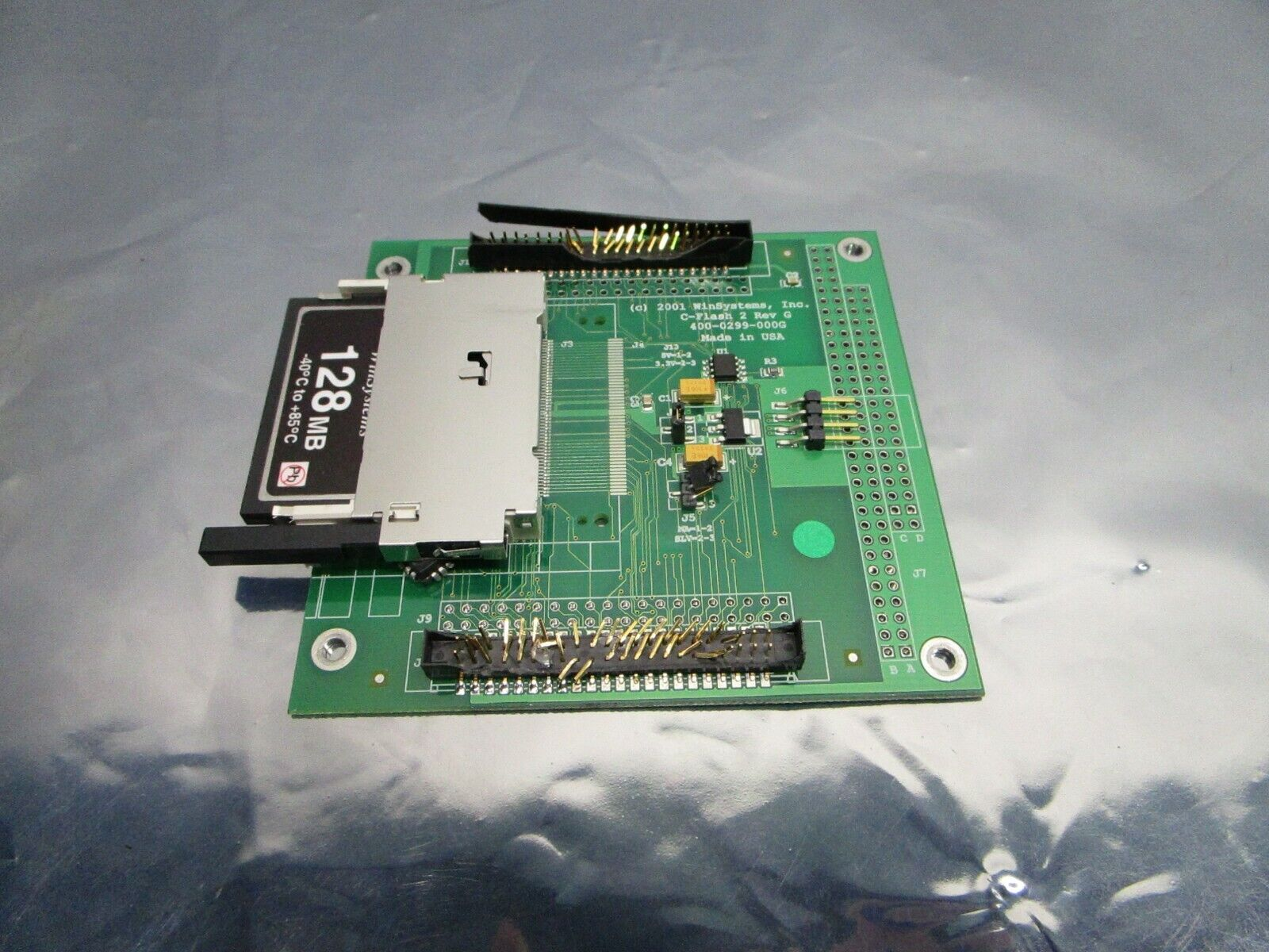 Win Systems 400-0299-000 C-Flash 2 PCB 400-0299-000G ADP-CFLASH2-44-0, 101196