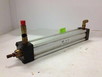 Schrader Bellows Econo-ram Ii Fw2b101321 Od 58 250psi Pneumatic Cylinder