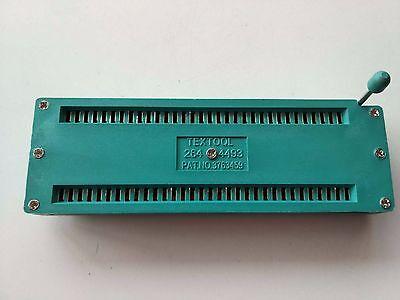 1pc 64pin 64 Pin 2.54mm Ic Test Universal Zif Socket