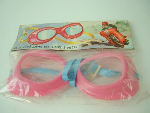 Rare Toy Pink Goggles Cathay Pacific Airlines Collectible Souvenir Vtg NOS
