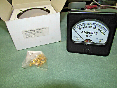 Lincoln Welder 0-600 Adc Amperes Dc - Amp Panel Meter - Pn M10485-8 - New In Box
