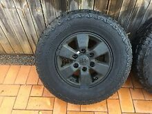 """Hilux 2008 SR5 15"""" wheels, nuts & Hankook tyres Wellington Point Redland Area Preview"""