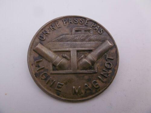 Ligne Maginot Infanterie Rare Insigne Breloque Avant 1940