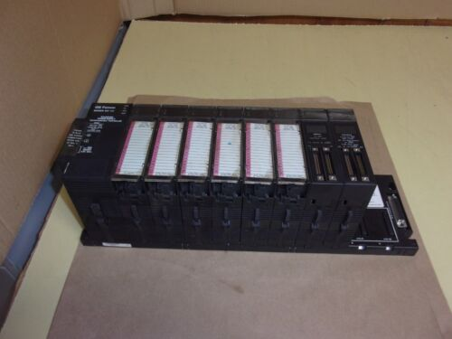 GE Fanuc 90-30 Programmable Controller , with 8 cards