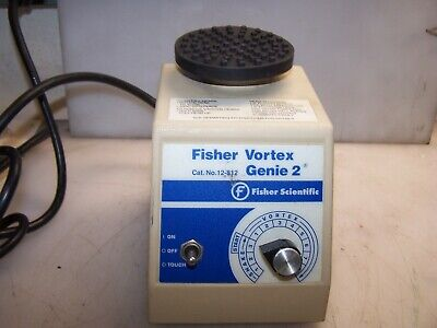 Fisher Scientific Vortex Genie 2 Mixer Model G-560 With Platform