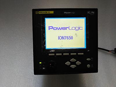 Schneider Electric Powerlogic Ion7650 S7650a0c0b6a0a0a Meter