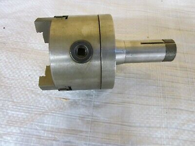 5c Mount 3 Jaw 4 Collet Lathe Chuck