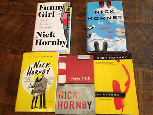 Five Nick Hornby Novels