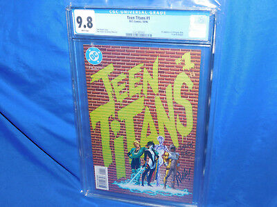 Teen Titans #1 CGC 9.8 1996 1st Appearance Of Argent Risk Prism & Slagger  Key!