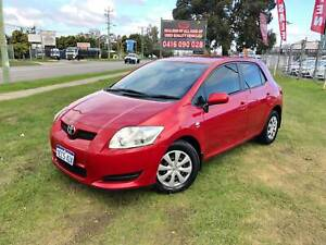 2008 TOYOTA COROLLA ASCENT HATCHBACK AUTOMATIC 36 MONTHS FREE WARRANTY Kenwick Gosnells Area Preview