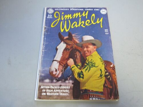 Jimmy Wakely #1 Comic Book 1949
