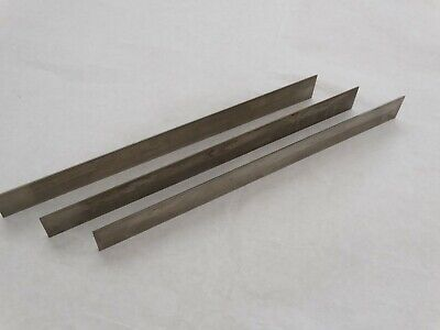 Used Vintage 12 Jointer Planer Knives Set Of 3  18 X 1 14 X 11 34