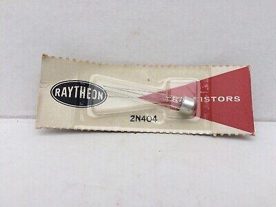 Vintage Nos Rayethon Transistor 2n404
