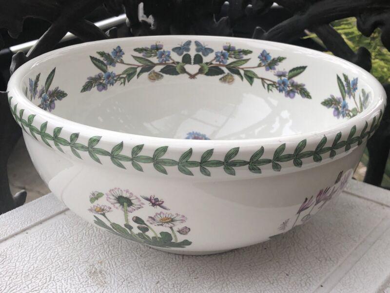 "The Botanic Garden Portmeirion 9-1/4"" Salad Serving Bowl"
