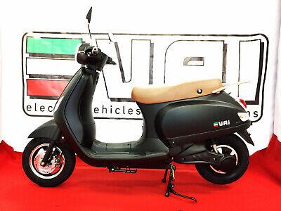 "New Style ""Retro Touch"" Elektro Motorroller mit 45 km/h Straßenzulassung"