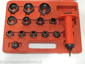 13-IN-1-HOLLOW-PUNCH-Set-Tool-Leather-Gasket-Hole-Cutter-Rubber-Plastic-Fiber
