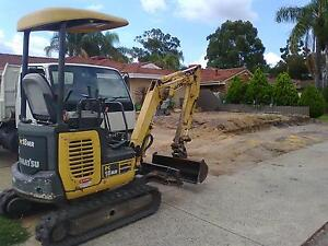 Excavator & tipper truck with operator for HIRE Perth Perth City Area Preview