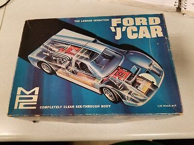 MPC Ford J Car Plastic Model Kit Vintage 501-200 1/25 Budd Anderson Air Box Only