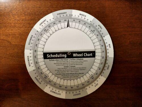 Scheduling Wheel Chart and Date Calculator - UPDATED!!! - Perpetual Calendar