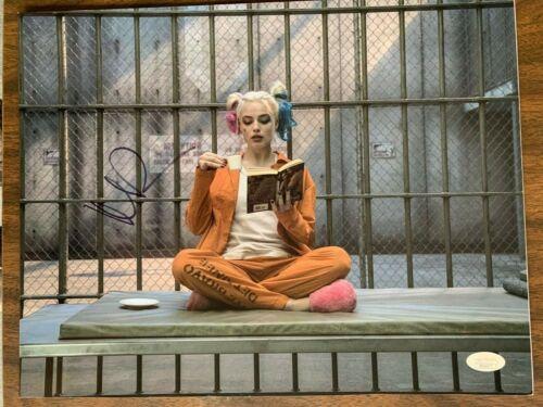 Suicide Squad Margot Robbie Autographed Signed 11x14 Photo JSA COA #1
