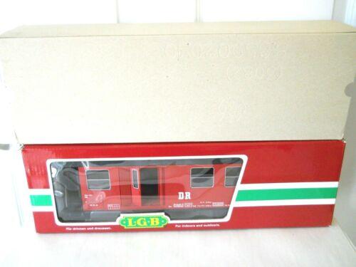 LGB 31710 G Scale 8 Wheel Box Post Office Baggage Car LN in OB