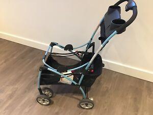 Safety 1st - Clic It Infant Seat Carrier Stroller, Blue