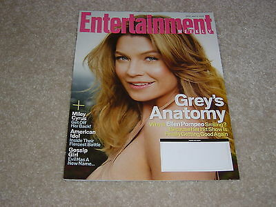 Greys Anatomy   Ellen Pompeo  990 May 9 2008 Entertainment Weekly Magazine