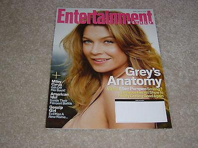 Greys Anatomy   Ellen Pompeo  990 May 9 2008 Entertainment Weekly Magazine