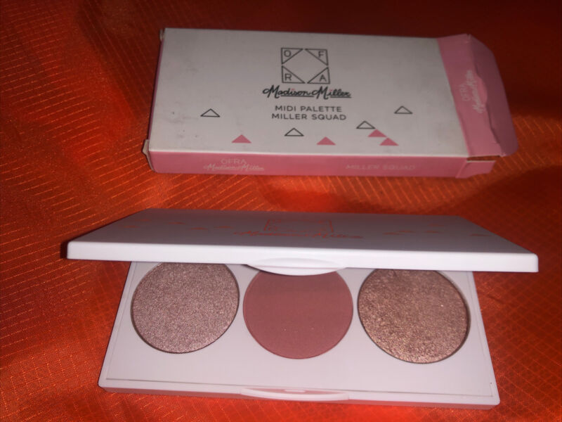 OFRA Madison Miller Midi Palette Miller Squad Highlighter Blush NEW