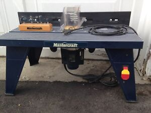 Mastercraft Router & Table