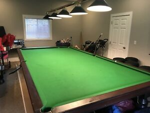 6 x 12 Snooker Championship Pool Table - Over 100 years old!