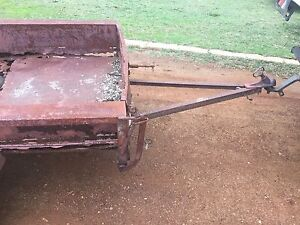 6x4 rusty tip trailer unlicensed box type. Busselton Busselton Area Preview