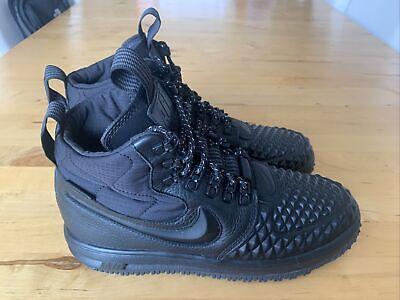 Nike Lunar Force 1 Duckboot 17 Black Size UK 8.5
