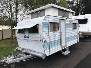 CLASSIC 1979 Franklin Mini Poptop - Double Bed - Awning Warragul Baw Baw Area Preview