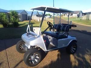 Club car golf buggy (custom) Coral Cove Bundaberg City Preview