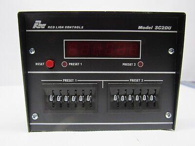 Red Lion Controls Sc2du600 2 Level Counter115vac 5060 Hz