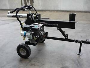 CAN FREIGHT!!! 12 TON Hydraulic Wood LOG SPLITTER 6.5hp B/New Hallam Casey Area Preview