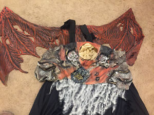 Devil Halloween costume with wings