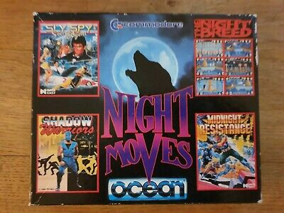 Night Moves 4 Games Compilation By Ocean (CC3) - C64 / 128