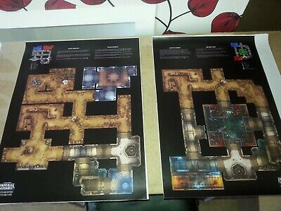 Star Wars Imperial Assault Maps x 4