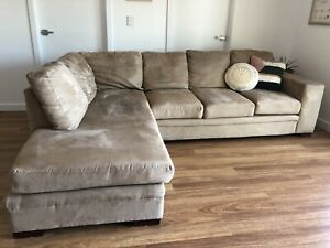 3 seater lounge with chaise