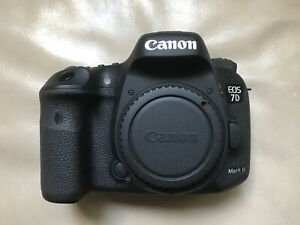 **New Price** Canon 7D Mark II camera shutter count 3,800 only!