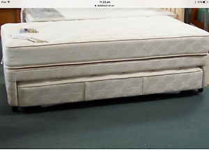 King single Beds and base with trundle Toorak Stonnington Area Preview