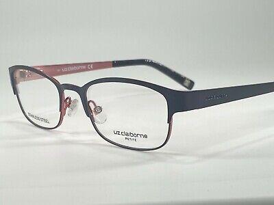 Liz Claiborne L438 Women's Metal Eyeglass Frame 0JBW Navy 48-17 Petite (Petite Fit Eyeglasses)