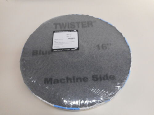 "16"" Twister Blue Daily Cleaning Floor Pads for Floor Scrubber Diamond pad"